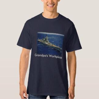 Battleship USS New Jersey T-Shirt