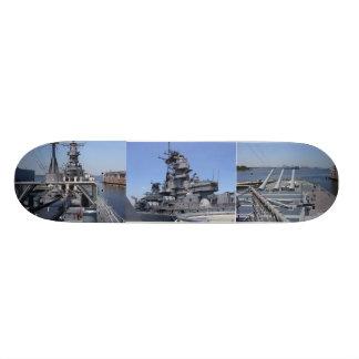 Battleship USS Wisconsin Skate Board Deck