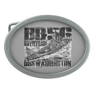 Battleship Washington Belt Buckle