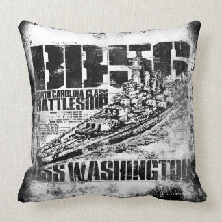 Battleship Washington Pillow
