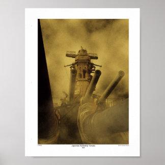 Battleship Yamato 3Ring Poster