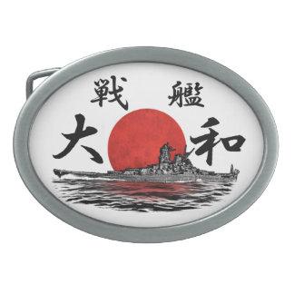 Battleship Yamato Belt Buckle Belt Buckle