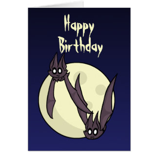 Batty Birthday Card