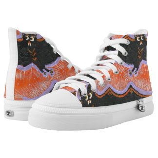 Batty Flight Halloween High Top Shoes