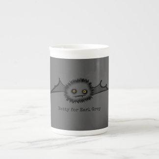 BATTY FOR EARL GREY Cute Vampire Bat Tea Cup