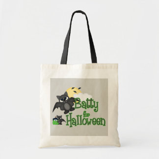 Batty For Halloween Holiday trick treat bag