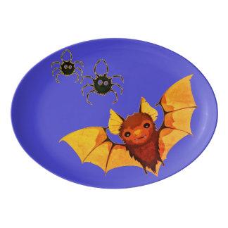 Batty Porcelain Serving Platter