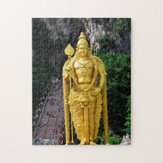 Batu Caves Buddha Statues-Malaysia. Jigsaw Puzzle