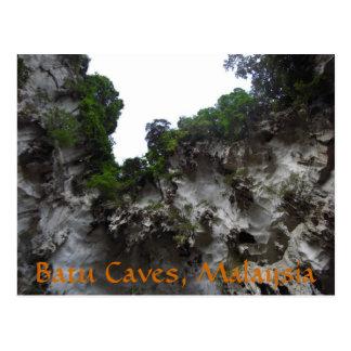 Batu Limestone Caves Malaysia Postcard
