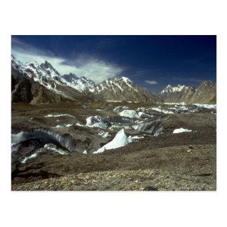 Batura Glacier, Karakorums, northern Pakistan Postcard