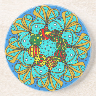 bauble Christmas gift Coaster
