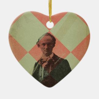 Baudelaire Ceramic Ornament
