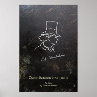 Baudelaire in Top Hat Poster