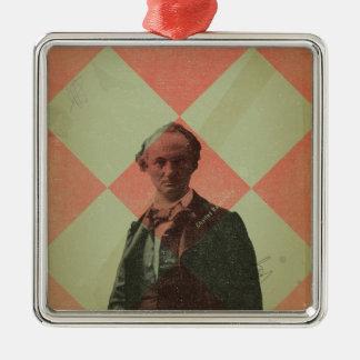Baudelaire Metal Ornament