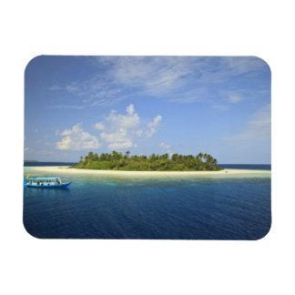 Baughagello Island, South Huvadhoo Atoll, Rectangular Photo Magnet