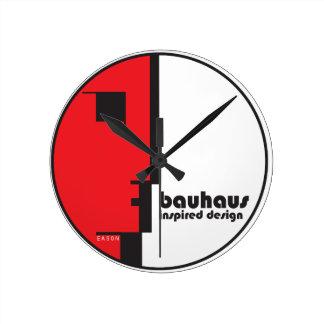 "BAUHAUS Classic Circle ""Lineface"" Profile Icon Round Clock"