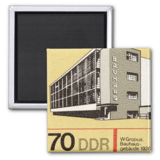 Bauhaus Dessau East German DDR Stamp Magnet