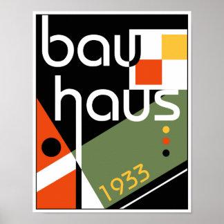 Bauhaus Inspired Poster
