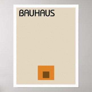 Bauhaus Minimalist II Poster