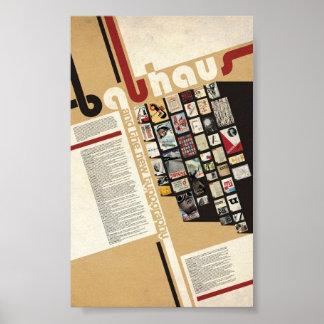 Bauhaus Typeface Poster