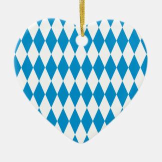 Bavaria Bavaria Octoberfest Ceramic Heart Ornament