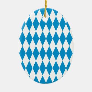 Bavaria Bavaria Octoberfest Ceramic Oval Ornament
