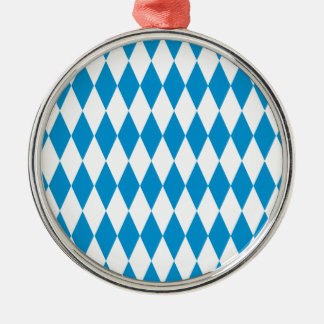 Bavaria Bavaria Octoberfest Silver-Colored Round Ornament