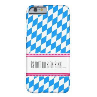 Bavaria Blue and white monogramed case