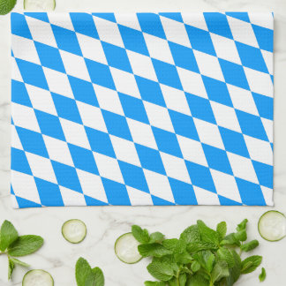 Bavaria blue for kitchen towels