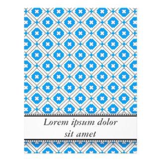 Bavaria Blue Graphical Invitation Flyer Design