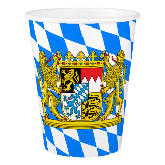 Bavaria Coat of arms Paper Cup