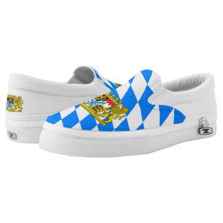 Bavaria Coat of Arms Slip-On Sneakers