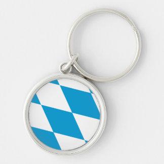 Bavaria Flag Bavarian Flag Keychain