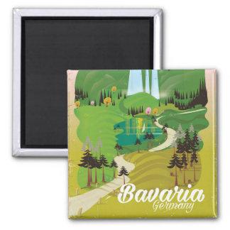 Bavaria Germany landscape travel print Magnet