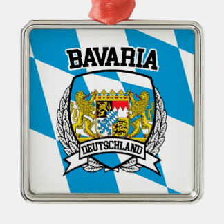 Bavaria Metal Ornament