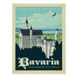 Bavaria, Neuschwanstein Castle Postcard