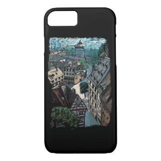bavaria Nuremberg Germany skyline architecture Case-Mate iPhone Case