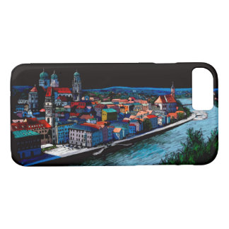 bavaria Passau Germany skyline architecture Case-Mate iPhone Case