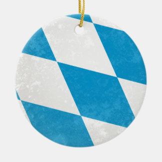 Bavaria Round Ceramic Ornament