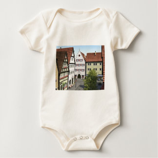 Bavaria Town From Above Baby Bodysuit