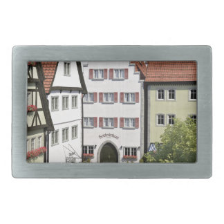 Bavaria Town From Above Belt Buckle
