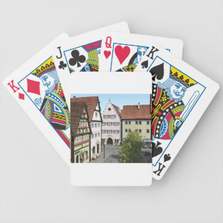 Bavaria Town From Above Bicycle Playing Cards