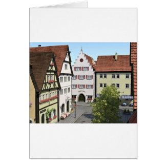 Bavaria Town From Above Card