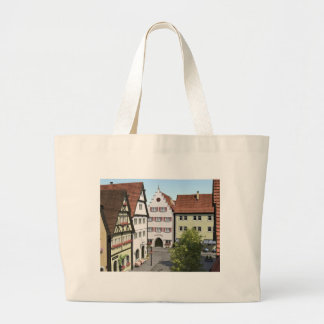Bavaria Town From Above Large Tote Bag