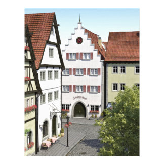 Bavaria Town From Above Letterhead