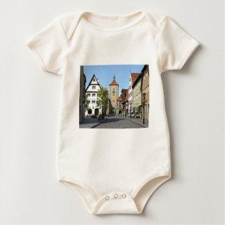 Bavaria Town Main Street Baby Bodysuit