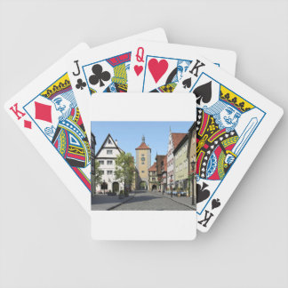 Bavaria Town Main Street Bicycle Playing Cards