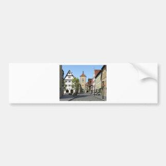 Bavaria Town Main Street Bumper Sticker