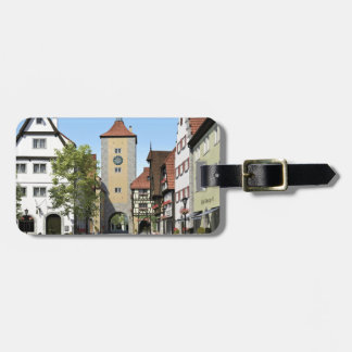 Bavaria Town Main Street Luggage Tag