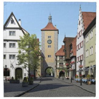 Bavaria Town Main Street Napkin